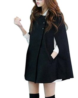 Vobaga-Womens-Black-Woolen-Batwing-Cap-Coat-Warm-Winter-Poncho-Jacket-0