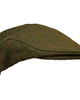 cc7cb7ce70d Walker   Hawkes – Uni-Sex Derby Tweed Flat Cap Hunting Shooting Countrywear  Hat – Da.