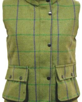 Womens-Game-Abby-Tweed-Gilet-Quilted-Waistcoat-Bodywarmer-Purple-0