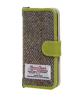 iPhone-8-Plus-Case-Cover-iPhone-7-Plus-Flip-Leather-Wallet-Case-Genuine-Harris-Tweed-Folio-Book-Cover-with-2-Card-Holder-and-1-Cash-Slots-MONOJOY-Premium-iPhone-7-8-Plus-Screen-Protector-Case-with-Mag-0
