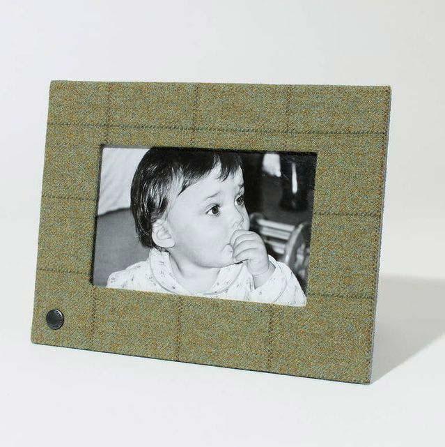 Tweed Picture Frames