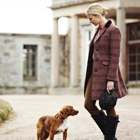Womens Tweed Coats