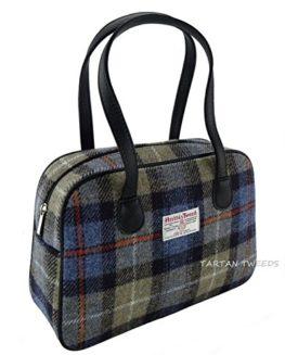 Ladies-Harris-Tweed-Authentic-Square-Handbags-LB1005-0