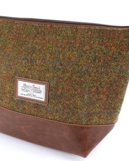 Tweed Make-Up & Toiletry Bags