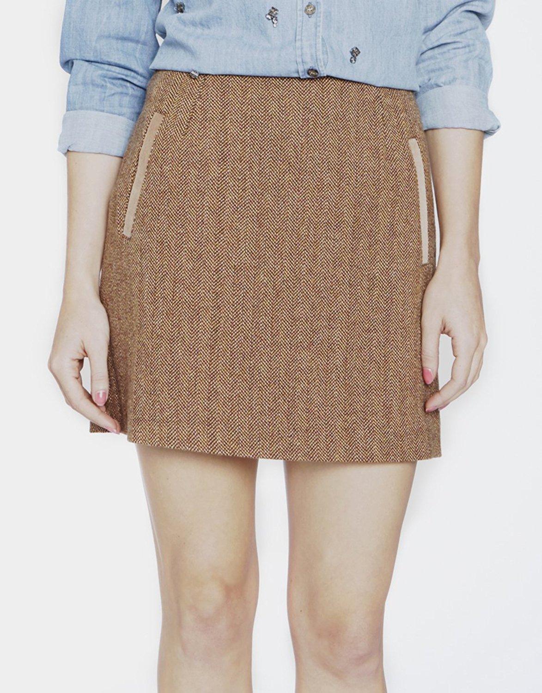 Womens Tweed Skirts