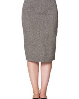 Banned-Retro-Vintage-Tweed-Style-Pencil-Skirt-0
