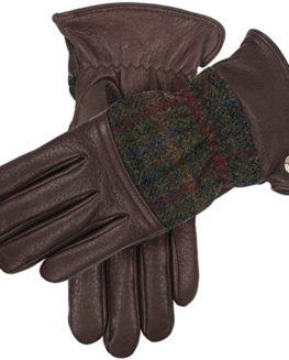 BarkSagePine-Galloway-Harris-Tweed-and-Deerskin-Leather-Gloves-by-Dents-0