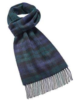 Black-Watch-lambswool-tartan-check-long-scarf-BRITISH-MADE-0