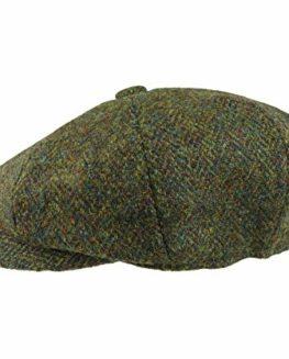 Earland-Brothers-Failsworth-Failsworth-Hats-Carloway-8-Piece-Bakerboy-Harris-Tweed-Green-2016-0