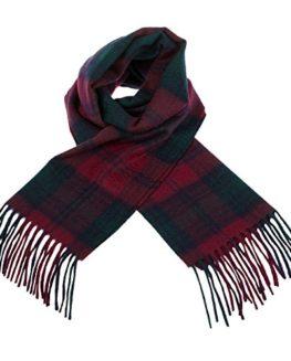 Edinburgh-100-Cashmere-Unisex-Scottish-Tartan-Multicolor-Scarf-0