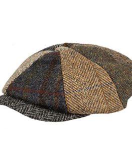 Failsworth-Failswortth-Mens-Mix-Match-Harris-Tweed-Lewis-CapHat-0