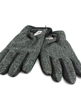 Harris-Tweed-glove-with-Genuine-Leather-Palms-0