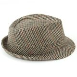 Hawkins Classic Tweed Trilby Hat - That British Tweed Company 80e61532030