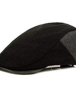 HowYouth-Mens-Wool-Tweed-duckbill-IVY-Flat-Cap-Irish-newsboy-Gatsby-Driver-Winter-Hat-0