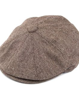 Jaxon-James-Marl-Tweed-Newsboy-Cap-Brown-0