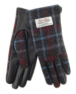 Ladies-100-Harris-Tweed-Leather-Gloves-LB3000-Col48-0