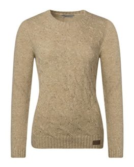 Ladies-Made-In-Scotland-Mohair-Mix-Cable-Knit-Round-Neck-With-Tweed-Elbows-0