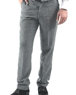 Marc-Darcy-Mens-Designer-Grey-Herringbone-Tweed-Tailored-Wool-Style-Trouser-Size-28-46-Available-0