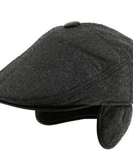 Siggi-Wool-Tweed-Flat-Cap-Irish-duckbill-IVY-Cap-Winter-Hat-With-Wool-Knitted-Earflap-Warmer-For-Men-0