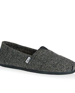 TOMS-Mens-Charcoal-Grey-Tweed-Alpargata-Espadrilles-0