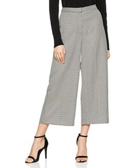 Warehouse-Womens-Houndstooth-Trousers-0