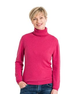 Woolovers-Ladies-Cashmere-and-Merino-Fitted-Polo-Neck-Knitted-Sweater-0