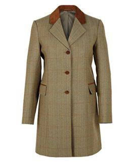 York-Ladies-Brown-Tweed-Coat-119-0