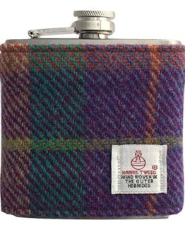 Tweed Hip Flasks