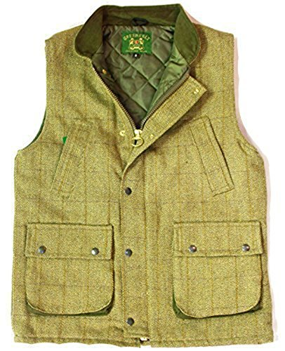 8935dc891 Countrywear New Mens Tweed Derby Gilet British Made Outdoor Bodywarmer  Quilted Waistcoat Jacket Fishing Hunting Shooting Mens Wool Branded