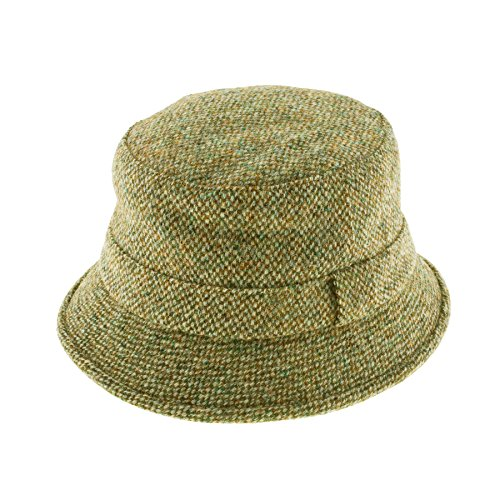 61685947ddca6 Failsworth Harris Tweed Grouse Hat - That British Tweed Company