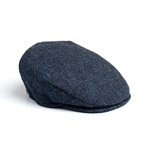 big sale quality products latest fashion Hanna Hats Men's Donegal Tweed Vintage Cap