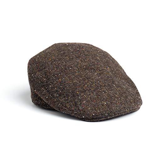 833c02f3 Hanna Hats Men's Donegal Tweed Vintage Cap - That British Tweed Company