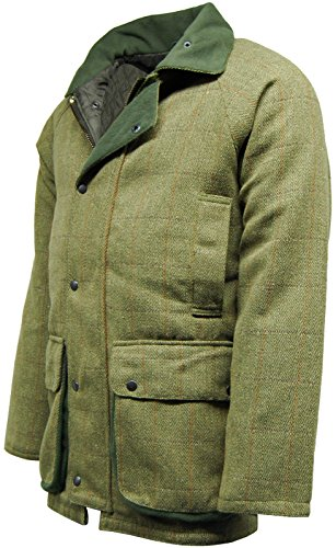 Jack Amp Woods Mens Warwick Tweed Shooting Jacket Coat