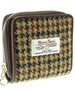 Ladies 100/% Harris Tweed Clasp Purse Available in 5 Colours New LB2113