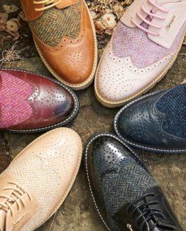 Womens Tweed Shoes