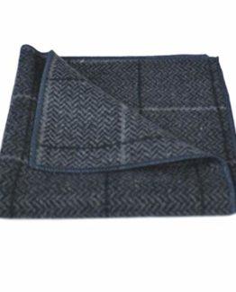 Highland Weave Cocoa Brown Pocket Square Handkerchief