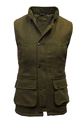 Childrens Shooting Hunting Clothes UK Kids Tweed Waistcoat Gilet Jacket