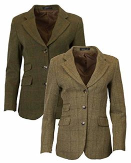 c8ee9bfa015e6 Walker & Hawkes – Ladies Classic Mayland Tweed Country Blazer Jacket. Amazon .co.uk ...