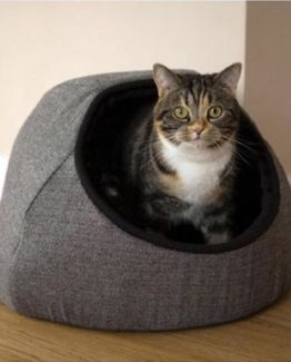 Tweed Cat Beds / Caves & Towers